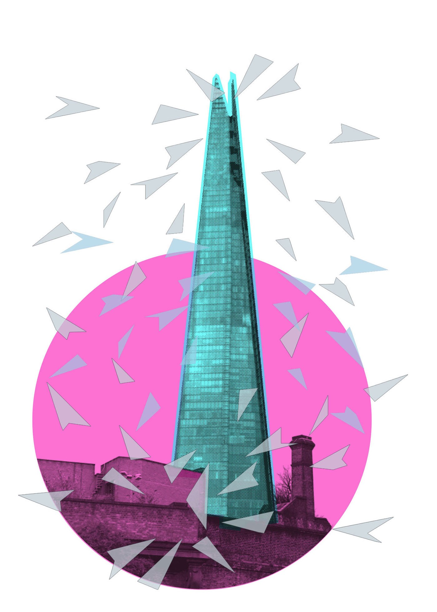 TIRSO_SANCHEZ_REIGNING GLASS (THE SHARD)  £70 Edition of 80 700x500mm.jpg.jpg