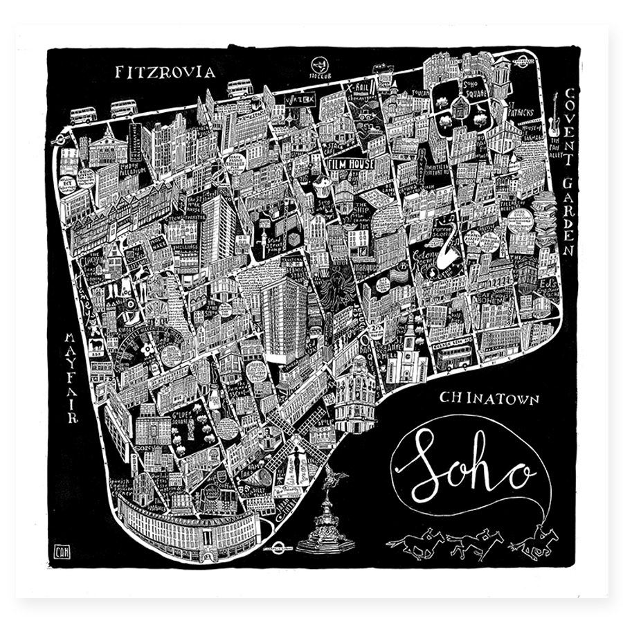 Illustrated Map of Soho by Caroline Harper.jpg
