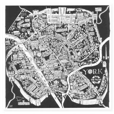 Illustrated Map Of York Map By Caroline Harper.jpg