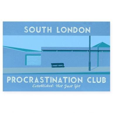 South London's Procrastination Club V By Martin Grover.jpg