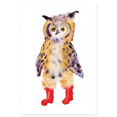 Owl In Boots By Rosie Webb.jpg