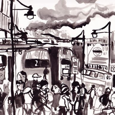 Brixton Road By Kirsty Jones