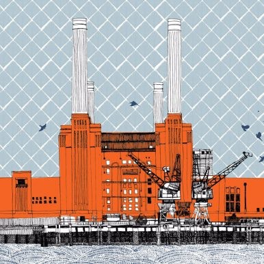 Power At Battersea By Claire Halifax