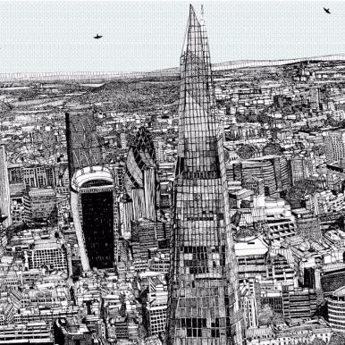 Spot The Shard By Claire Halifax