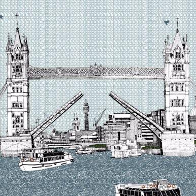 Tower Bridge By Claire Halifax