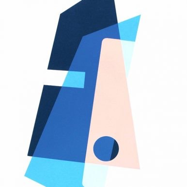 Composition I (Blue) By Josie Molloy