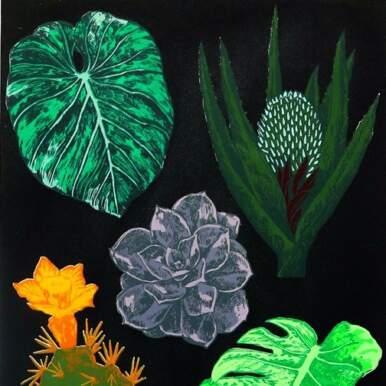 Botanical Study By Caitlin Parks