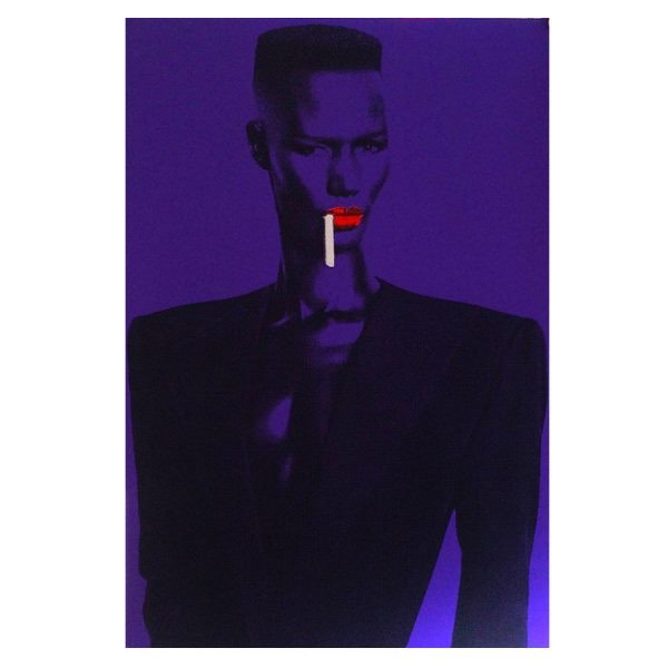kris lamorena grace jones a1 a2 600x600 - Grace Jones by Kris Lamorena