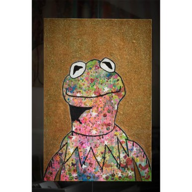 Peace Frog By Barrie J Davies