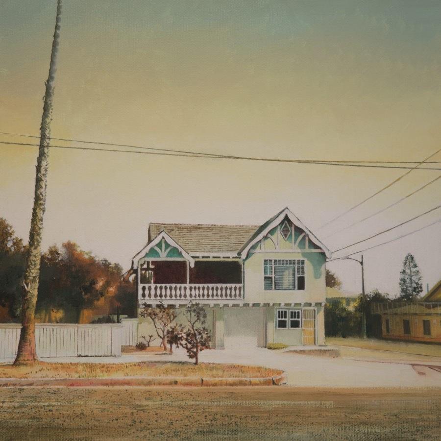 """BEACH HOUSE' 12"""" x 12"""" £285 e1554306649250 - Beach House by John Ball"""