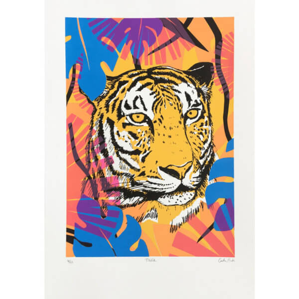 Caitlin Tiger 600x600 - Tiger by Caitlin Parks