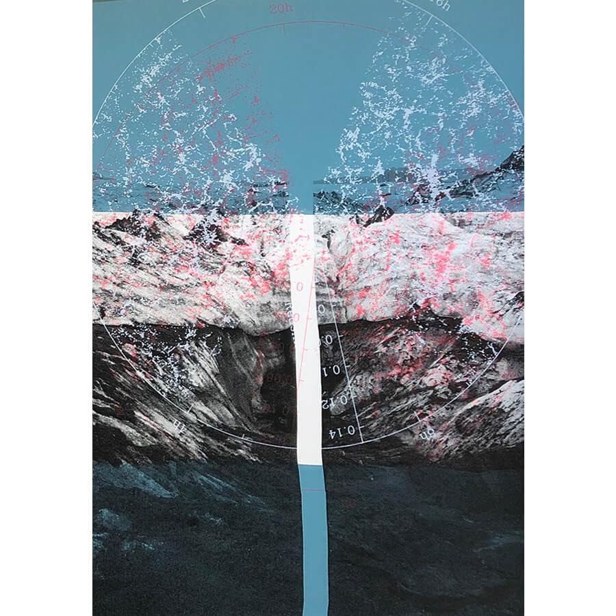 Lisa Pettibone Icelandic variation - Iceland Cosmic Variation 2 by Lisa Pettibone