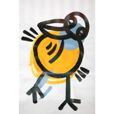 Andy Lester Large Bird 386x386 - Artist Takeover