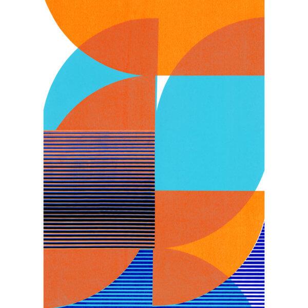 Diane Bresson Tangram Slice X 600x600 - Tangram Slice X by Diane Bresson