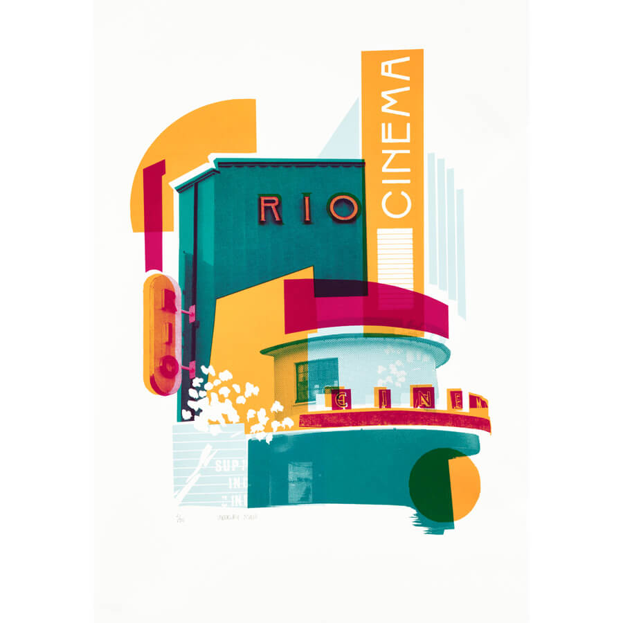 Underway Studio Rio - Rio Cinema by Underway Studio