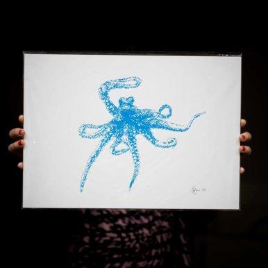 Octopus By David Horgan