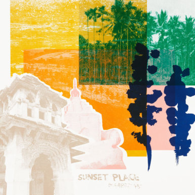 Hampi Sunset By Anna Schmidt