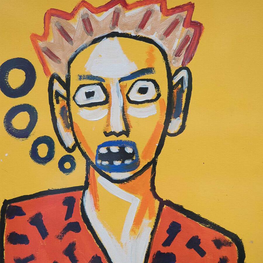 Jack portrait crop - Portrait 1 by Jack Blackburn