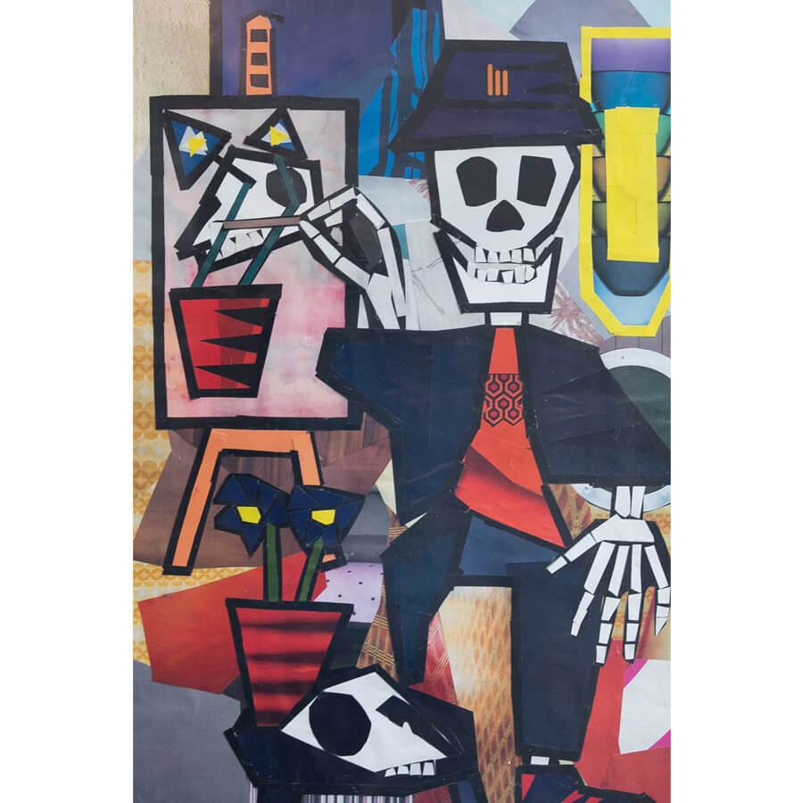 Jack skeleton 1 - Skeleton by Jack Blackburn