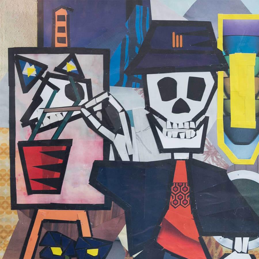 Jack skeleton crop - Skeleton by Jack Blackburn