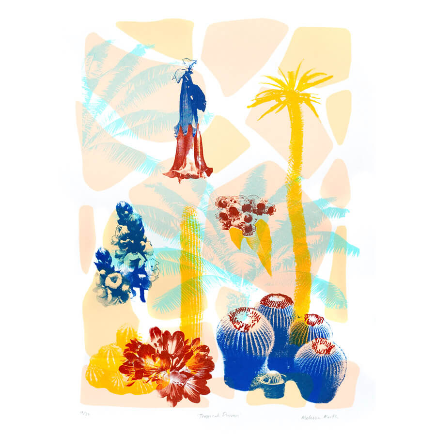 melissa tropical - Tropical Flowers by Melissa North