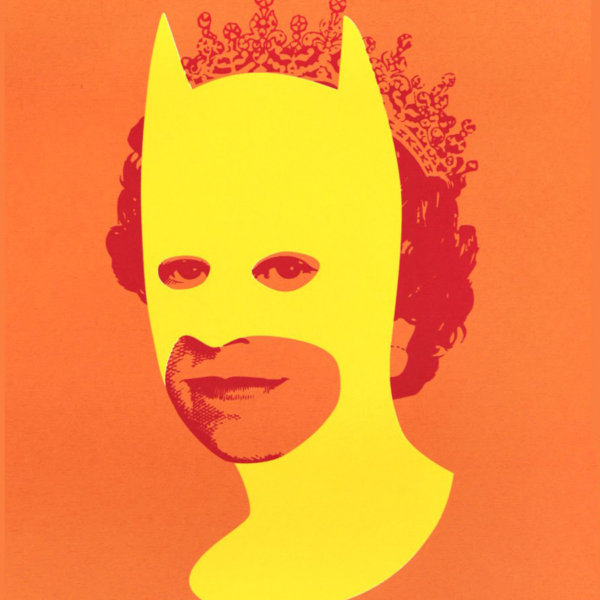 Heath Batman Yellow Orange 600x600 - Rich Enough To Be Batman by Heath Kane