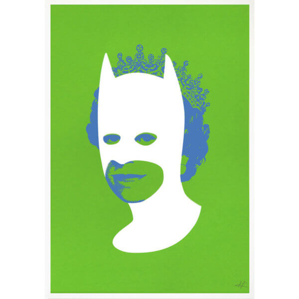 Heath Batman green 600x600 - Rich Enough To Be Batman by Heath Kane