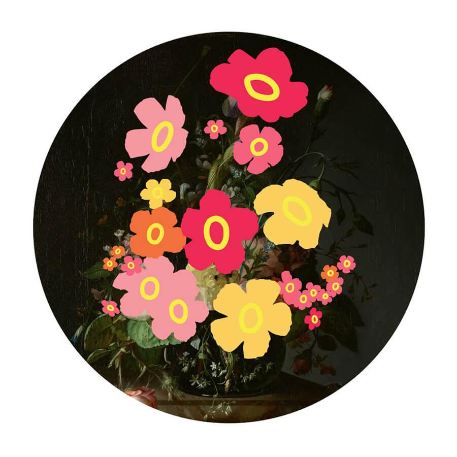 Heath wallflower full - Wallflowers by Heath Kane