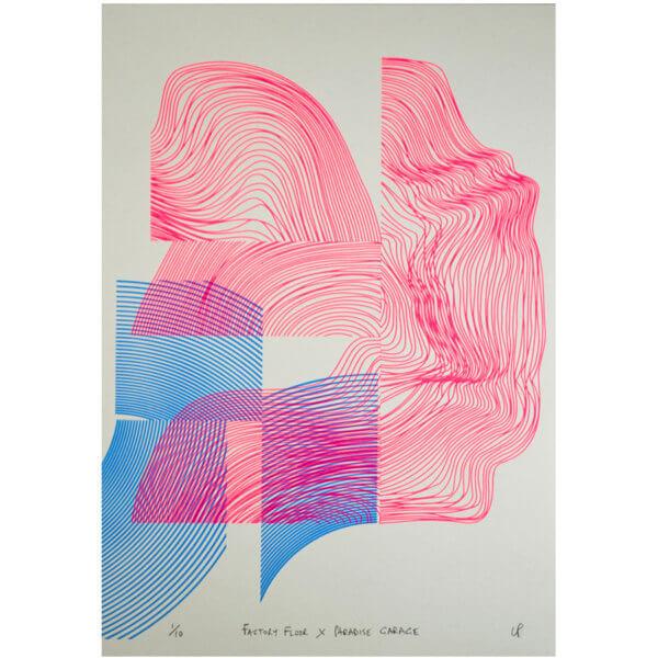 Ian Perry Factory Floor 600x600 - Factory Floor x Paradise Garage by Print Garage