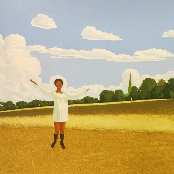 MGA Aretha Brockwell crop 600x600 - Aretha Franklin In Brockwell Park by Martin Grover