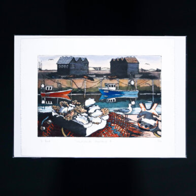 Whitstable Harbour I By Denise Bunt