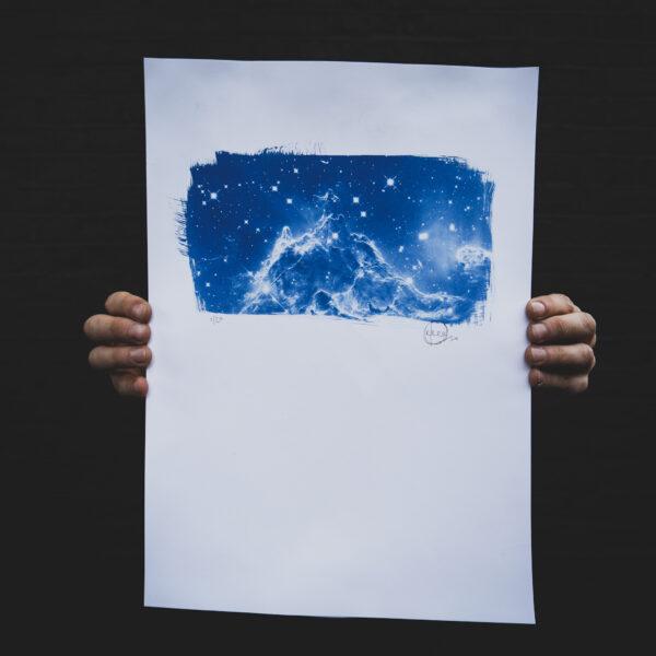 99080825 3062 4284 B922 E19DD06D36C7 600x600 - Monkey Head Nebula by Craig Keenan
