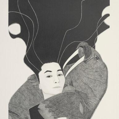 Yoko Ono 8.3x11.7 res100 386x386 - A Brixton Art Gallery