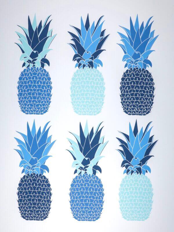93DF30A3 17A5 489C 9419 B18649BD4880 600x800 - Teal Pineapples 6