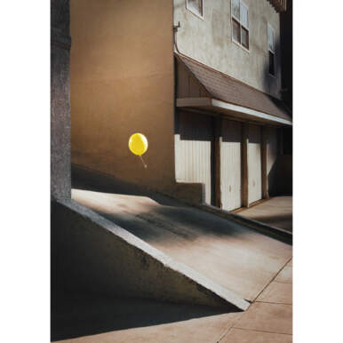 Yellow Balloon By Ben Stockley