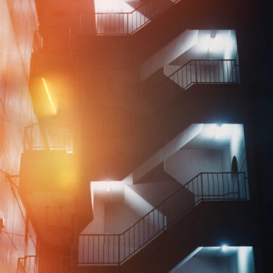 Night Stairs By Ben Stockley