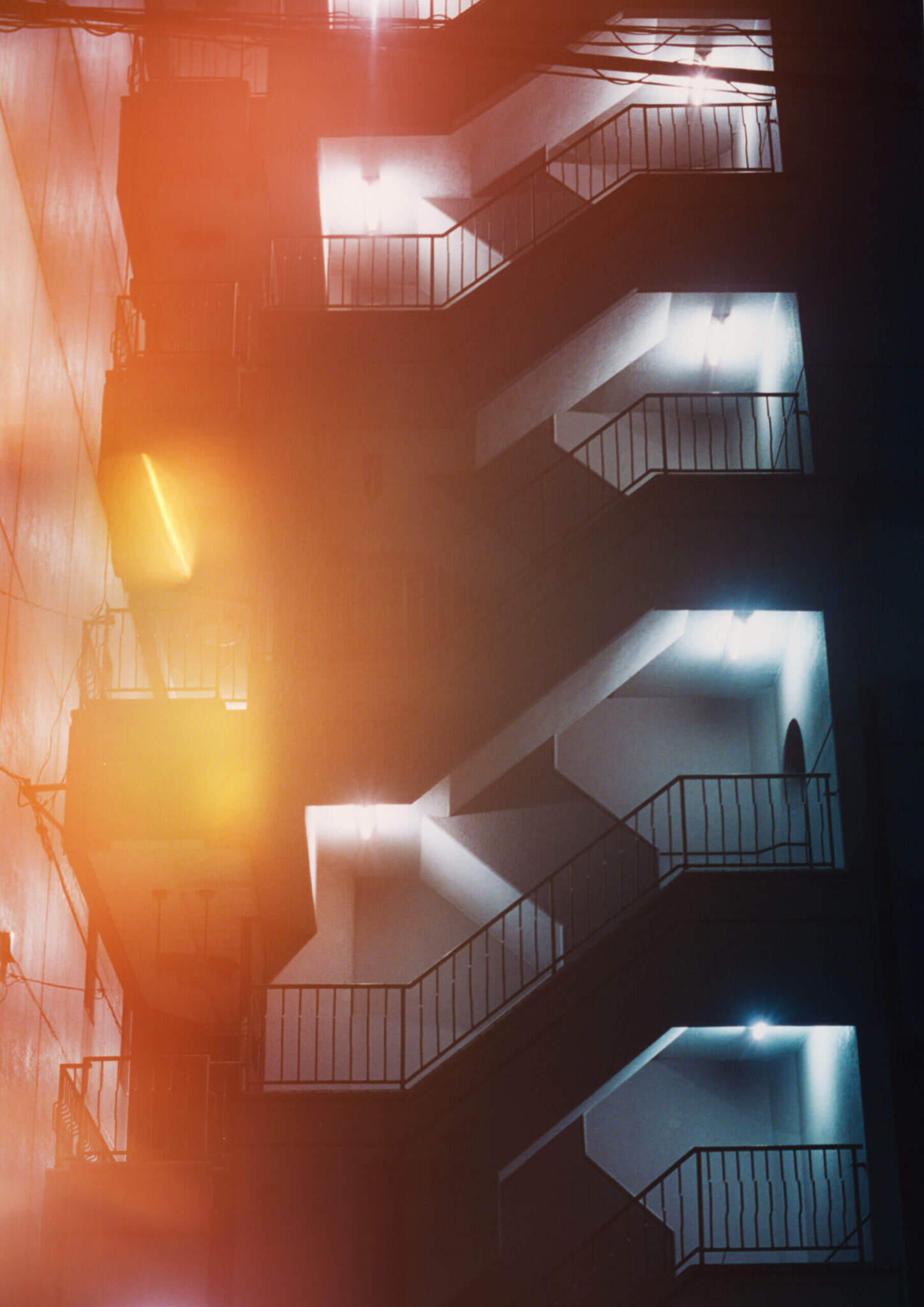 Ben Stockley Night Stairs scaled - Night Stairs by Ben Stockley