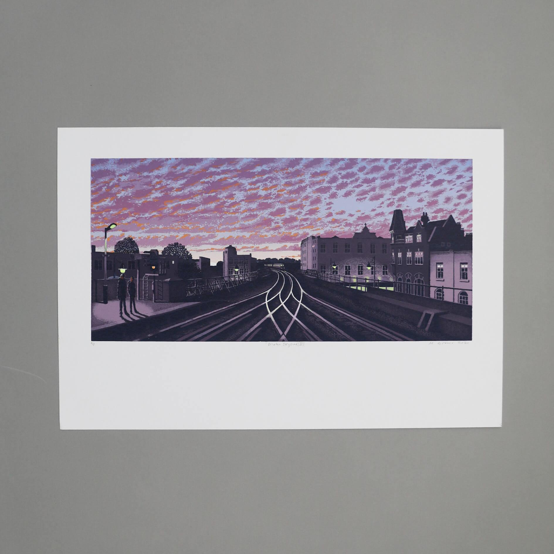 N58A0727 - Brixton Skyline II by Martin Grover