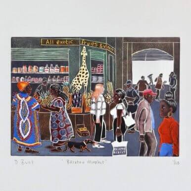 Brixton Market By Denise Bunt