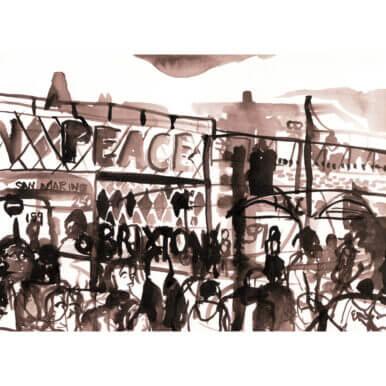 Brixton Peace Bridge By Kirsty Jones