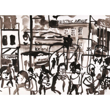 Brixton Iceland Electric Avenue By Kirsty Jones