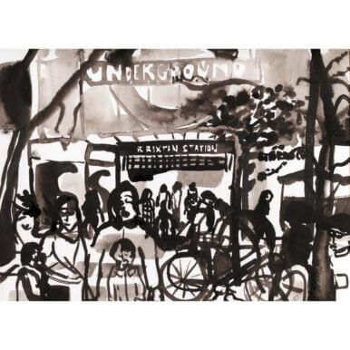 Brixton Underground By Kirsty Jones