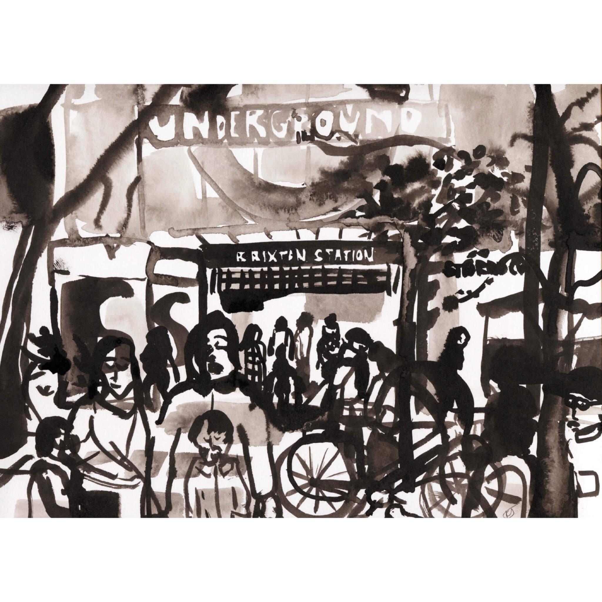 IMG 8755 - Brixton Underground by Kirsty Jones