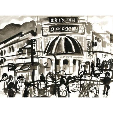 Brixton Academy By Kirsty Jones
