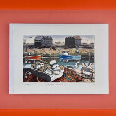Whitstable Harbour II By Denise Bunt