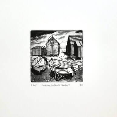 Blackshore, Southwold Harbour By Denise Bunt