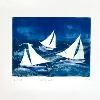 Sailing Boats By Denise Bunt