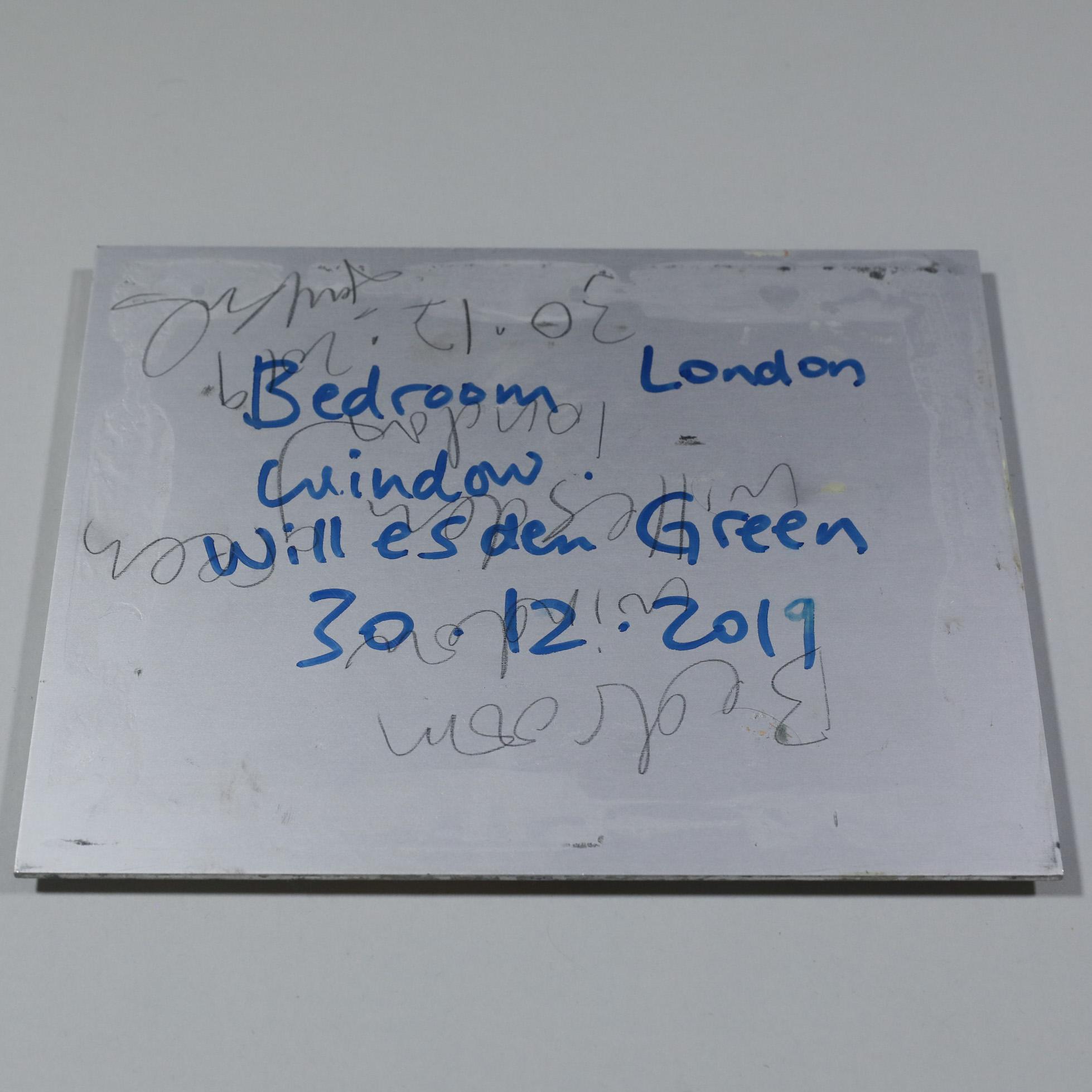 33DE11F3 5A26 4318 AF6F 696261E98E3E - Bedroom Window, London, Willesden Green, 30/12/2019 by Jackie Clark