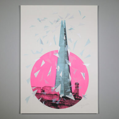 Pink Shard By Tirso Sanchez