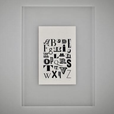 Alphabet By Eleanor Suggett